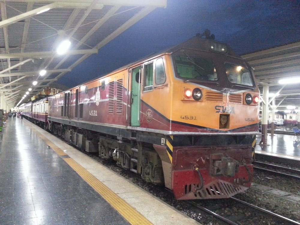 19.35 Special Express train to Chiang Mai