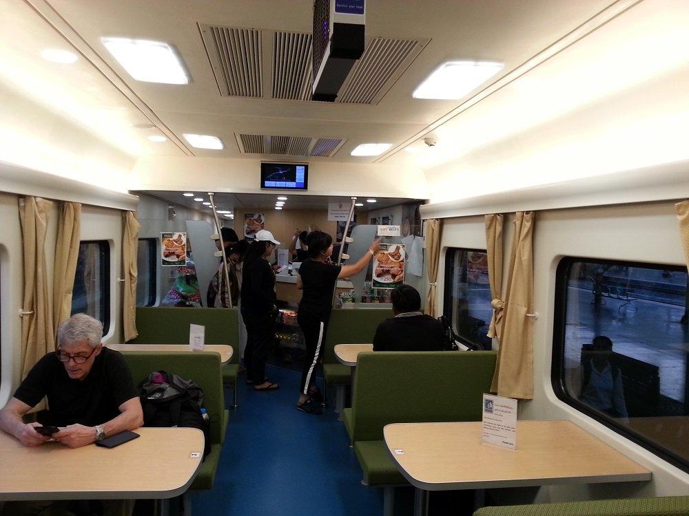 Restaurant car in Train #9